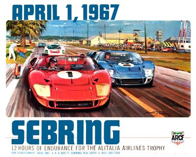 WANTED ANY CAR THAT RACED SEBRING OR DAYTONA IN ANY CONDITIO