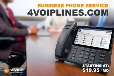 GO TO www.4VOIPLINES.com right now and get a fast price quote for your office.