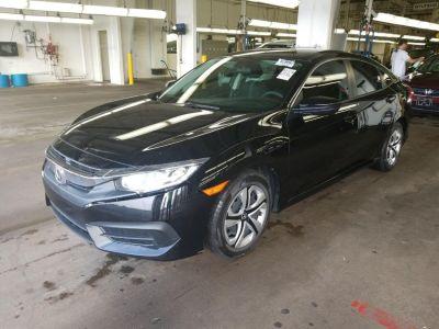 2016 Honda CIVIC SEDAN 4dr CVT LX (Crystal Black Pearl)