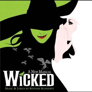 Ticket for Wicked the musical