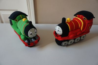 Thomas the Train, Percy and James Plush Doll Set
