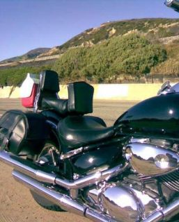 Purchase Suzuki Boulevard C50 C90 Volusia 800 Driver Backrest motorcycle in San Francisco, California, US, for US $63.00
