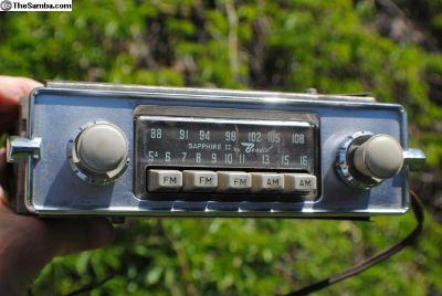 Rare Bendix AM FM sapphire II 2
