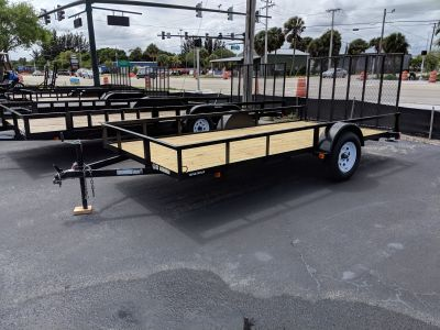 2019 Triple Crown 6X14 Utility Utility Trailers Fort Pierce, FL