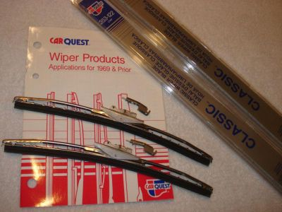 "Buy 2 New 12"" Trico Wiper Blades Vintage Replacement 1949-1969 motorcycle in Vacaville, California, US, for US $19.99"