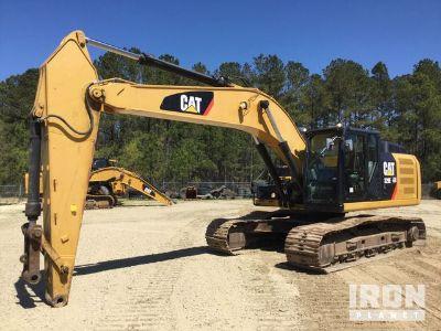 2013 Cat 329EL Track Excavator