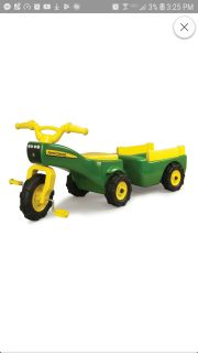 Any pedal tractor!