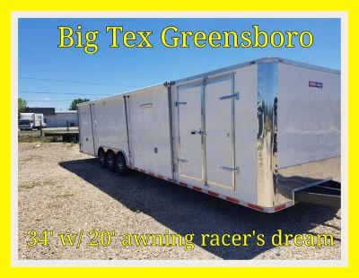 2018 34 foot Texan Cargo by Lark Race Trailer