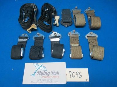 Sell Cessna 310 B 1956 Lot of 10 Aircraft Seatbelts (7096) motorcycle in Melbourne, Florida, US, for US $99.99