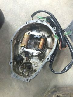 Purchase YAMAHA WAVE VENTURE 760 stator and cover motorcycle in Omro, Wisconsin, United States, for US $60.00