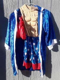 Boxing costume size small boys (5/6)