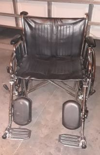 "Wheelchair - 24"" Xtra Wide"
