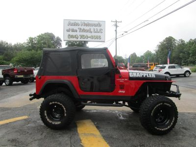1997 Jeep Wrangler Sport (Red)