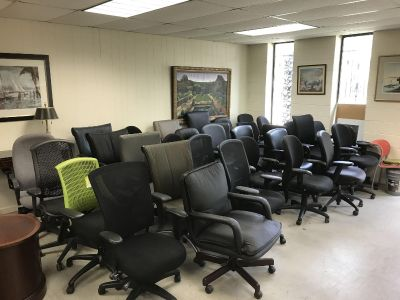 Quality office chairs in excellent condition.