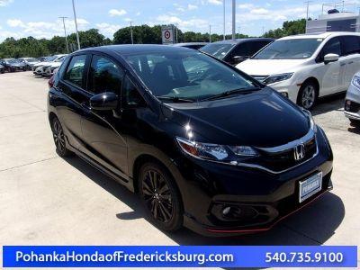 2019 Honda Fit Sport (Black)