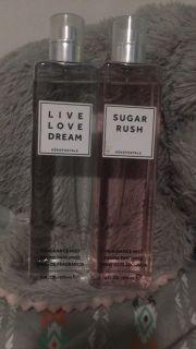 Aeropostale perfume/ kopari coconut body glow