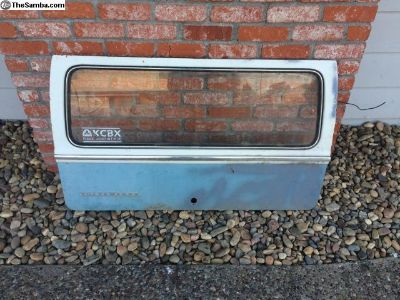 VW Bay Window Bus Rear Hatch
