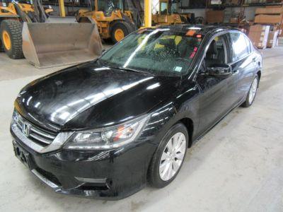 2015 Honda ACCORD SEDAN 4dr V6 Auto EX-L w/Navi (Crystal Black Pearl)