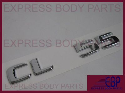 Buy MERCEDES BENZ CLS55 CLS CHROME TRUNK LOGO LETTERING BADGE EMBLEM REAR BACK LID motorcycle in North Hollywood, California, US, for US $15.99