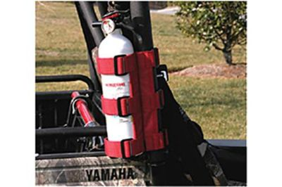 Purchase Rugged Ridge 63305.20 - Universal Red UTV Fire Extinguisher Holder motorcycle in Suwanee, Georgia, US, for US $22.62