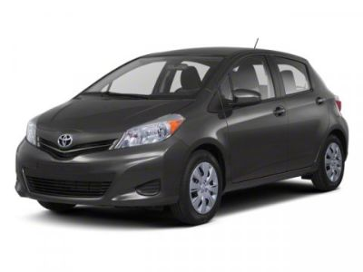 2012 Toyota Yaris 5-Door L (Magnetic Gray Metallic)