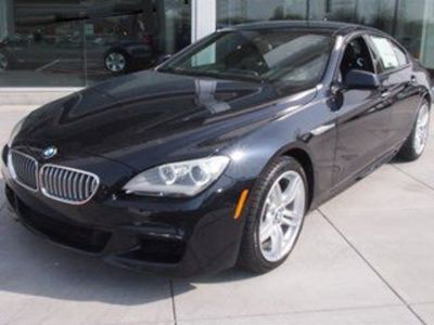 2014 BMW 6-Series 650i xDrive Gran Coupe (Carbon Black Metallic)