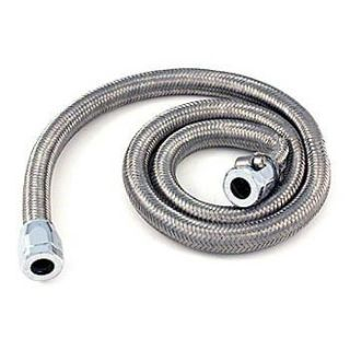 "Find Spectre 3/8"" Stainless Steel Braid Fuel Line Hose Kit w Chrome Magna Clamps 3 Ft motorcycle in Buena Park, California, US, for US $22.50"