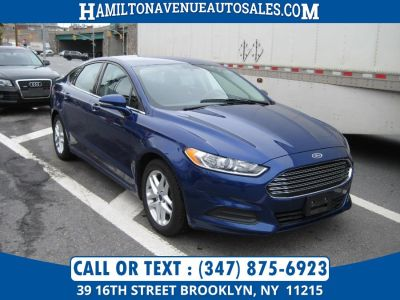 2013 Ford Fusion SE (Blue)