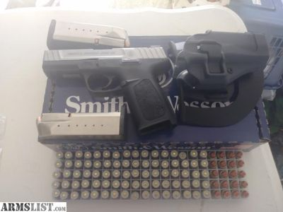For Sale/Trade: Factory new Smith and Wesson SD40VE plus extras