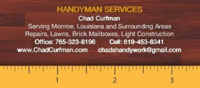 Handyman  House Cleaning  Decorations  Lawns (Monroe)