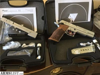 For Sale: SIG SAUER MATCHING SET IN .45 AND 9MM RARE