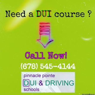 DUI Course