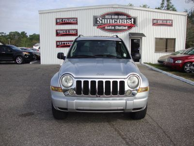 2005 Jeep Liberty Limited (Silver)