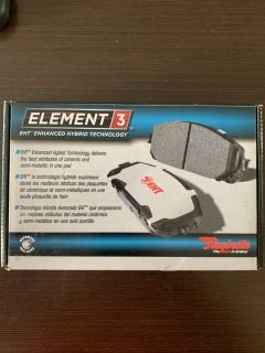 Disc Brake Pad Set-Element3 Hybrid Technology Front fits 03-08 Honda Pilot