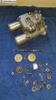Italian Weber 45 DCOE side draft carb carburetor