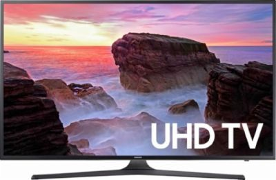 "2): 55"" 4K Smart UHD TV Model UHDMU6071"