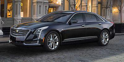 2018 Cadillac CT6 Sedan Sedan 2.0L Turbo Luxury RWD (Black Raven)