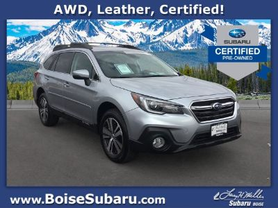 2018 Subaru Outback Limited AWD (Ice Silver Metallic)