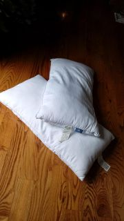 2 Serta Down Alternative King Pillows. Perfect condition, used 2 nights with pillow protectors