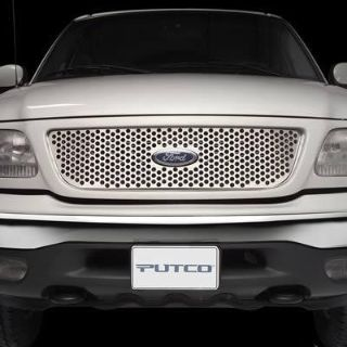 Find Putco 84129 Grille Insert Main Grille Steel Polished Punch Ford Explorer motorcycle in Tallmadge, Ohio, US, for US $104.97