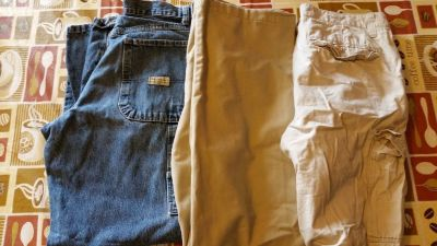 Mens size 30x30 Jeans, pants and shorts
