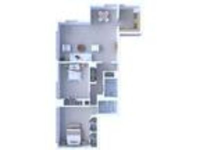 Oglesby Towers Apartments - Two BR Floor Plan B2