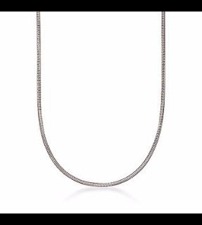 """CLEARANCE ***BRAND NEW***22"""" Silver Snake Chain***"""