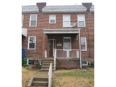 3 Bed 1 Bath Foreclosure Property in Baltimore, MD 21213 - Elmley Ave