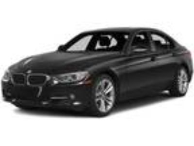 Used 2015 BMW 3 Series Black, 57.4K miles