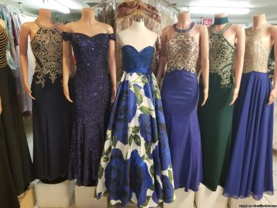 Coktel dresses, at night, formal and semi-formal (Sizes S