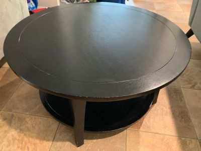 Pottery Barn black coffee table