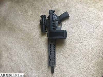 For Sale: SIG MCX Virtus 11.5in PSB 5.56