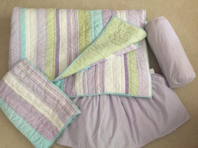 Pottery Barn Kids twin quilt set