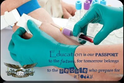 Phlebotomy Classes at E&S Academy